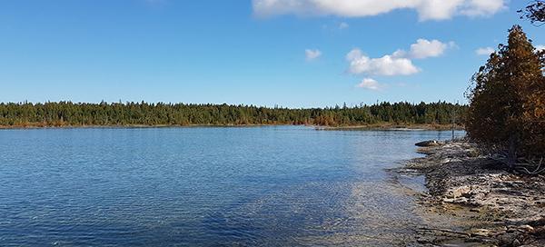 Saugeen Bruce Peninsula shoreline, Joanne Gui