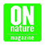 ON Nature magazine logo with added title description