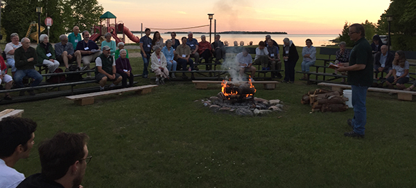 Annual Gathering campfire