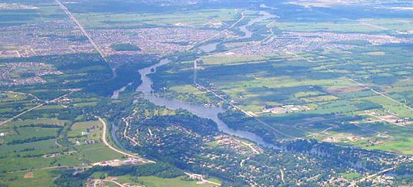 Ottawa River and landscape