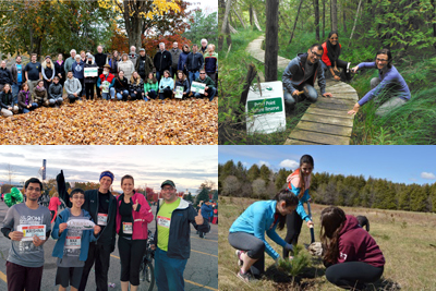 Ontario Nature volunteers 2014