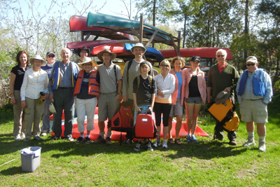 Quetico Foundation Canoe Day 2013 participants
